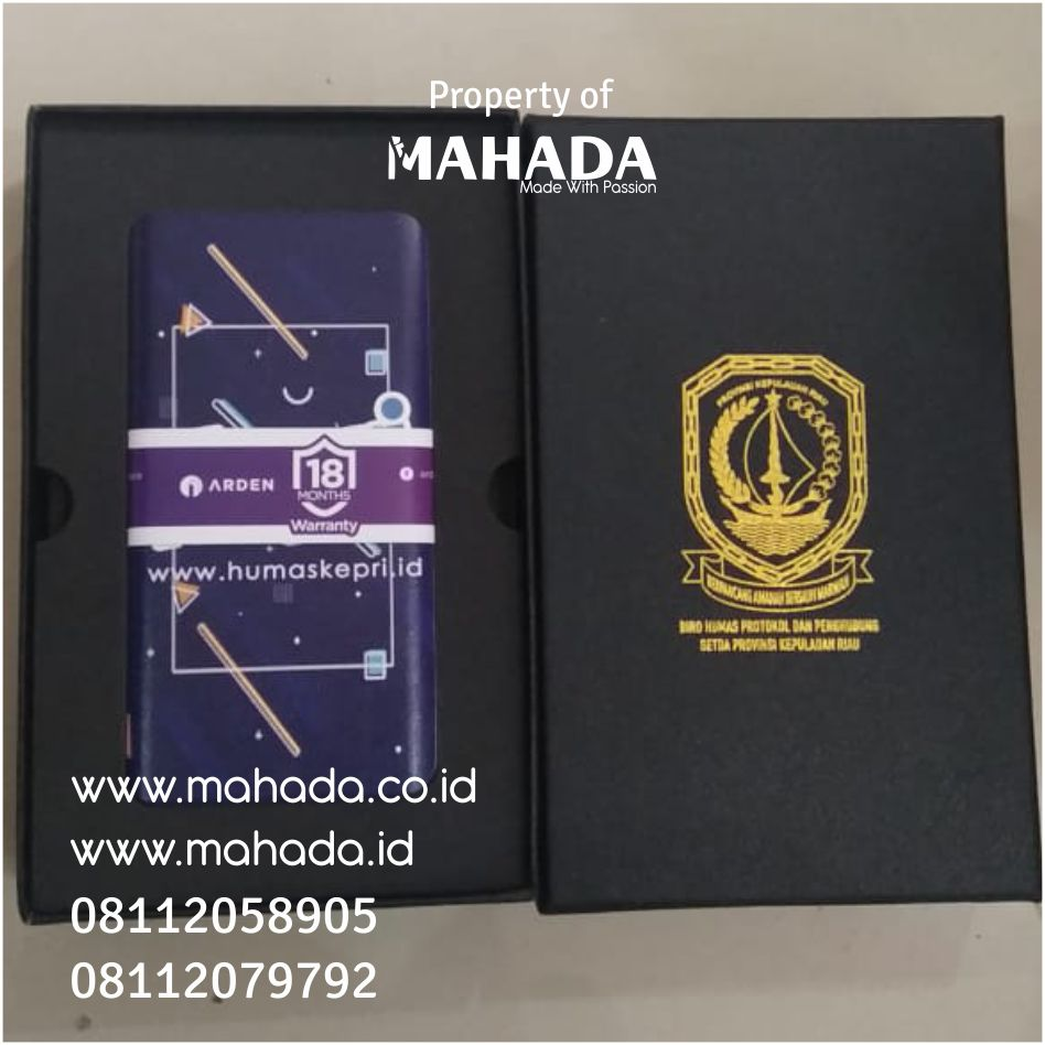 Souvenir Powerbank Custom - KEPRI