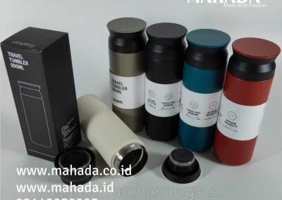 Pusat Souvenir Paket Seminar Tumbler Stainless Plastik Suhu Laser Custom New Normal Kit Custom Logo - Mahada Indonesia
