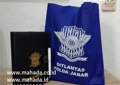Pusat Souvenir New Normal Paket Seminar Kit Tas Promosi Gift Set Sablon Print Custom Packaging Logo - Mahada Indonesia